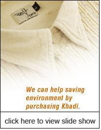 Khadi textile fabrics have lowest carbon footprint – Designer