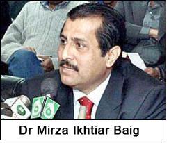 Dr Mirza Ikhtiar Baig