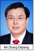 Mr Zhang Dejiang