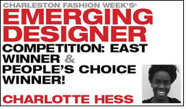 Charlotte Hess wins CFW Emerging Designer Competition