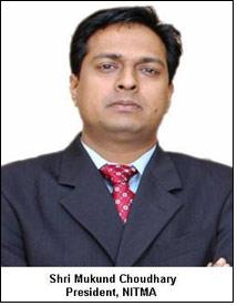 Shri Mukund Choudhary becomes President of NITMA