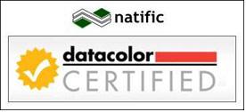 natific to execute Datacolor Certified Program