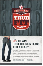 True Religion Brand Jeans impressed by 3 Tier Logic