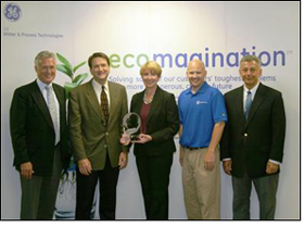 Wacker honored with GE Ecomagination Leadership Award