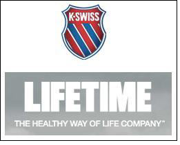 K-Swiss & Life Time to work on co-branded/event-themed line
