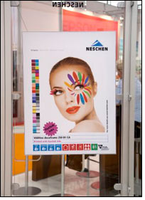 Neschen presents new display media and textiles