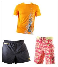 Sizzling summer with Reebok
