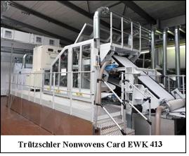 Trützschler's Card EWK 413 for North Carolina State University