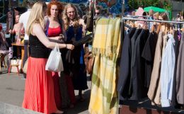 Second-hand twist to apparel market