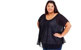 Plus size clothing in India