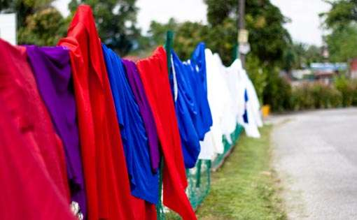 Caring The Environment By Recycling Of Non-Degradable Textile Material