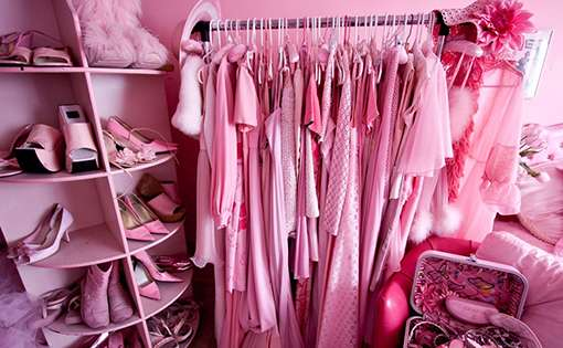 Pretty in pink: Pink scrubs that is