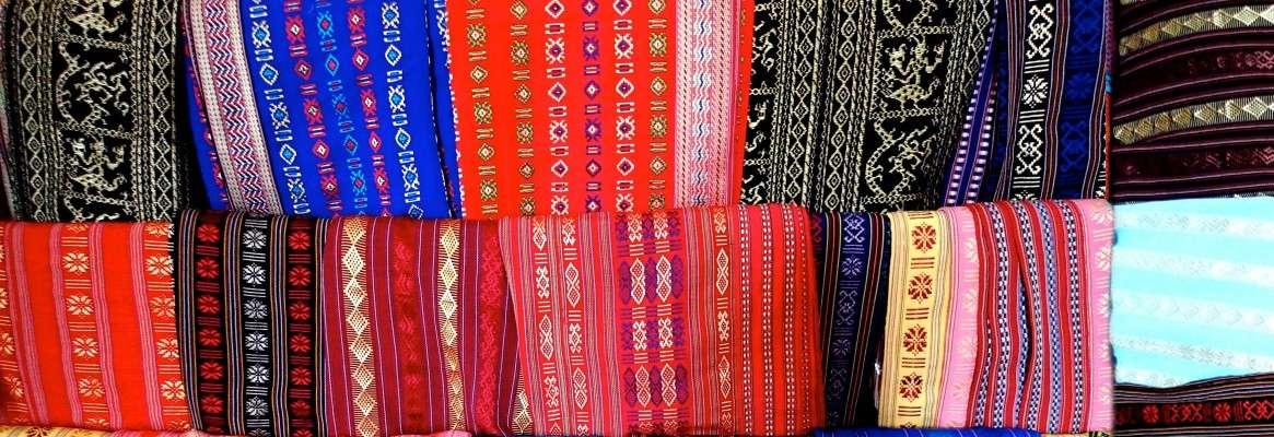 Fractals for Fashion - Textile Weaving Designs