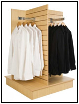 Customized Clothing Fixtures to Display Your Apparel Merchandise