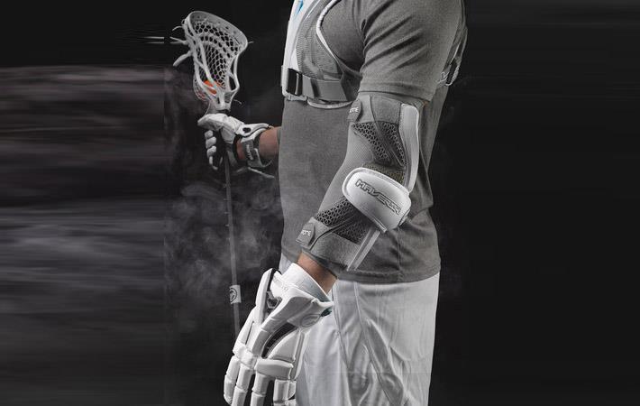 Navy Maverik Lacrosse Max Elbow Pad