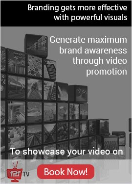 Generate maximum brand awarensess through video promotion