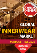 Report on Global innerwear Market : Forecast till 2020