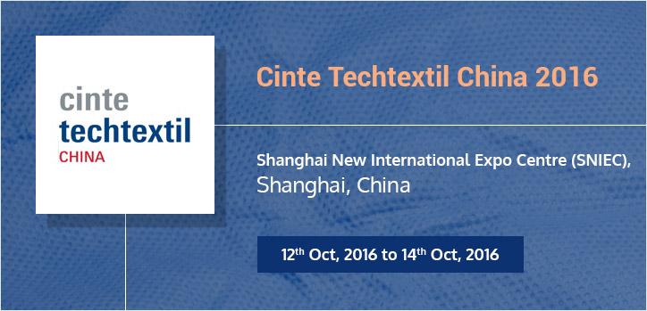 Cinte Techtextil China 2016