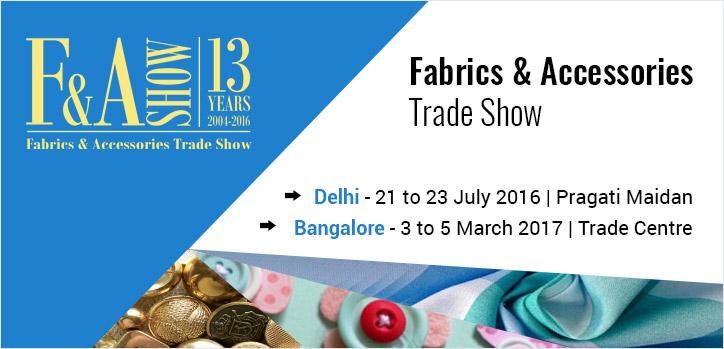 Fabrics & Accessories Trade Show 2016