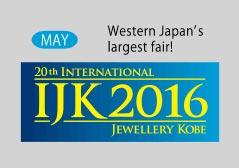 20th International Jewellery Kobe IJK 2016
