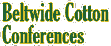 Beltwide Cotton Conferences 2018