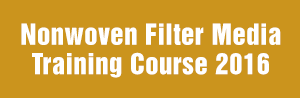 Nonwoven Filter Media Training Course 2016