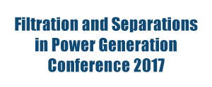 Filtration and Separations in Power Generation Conference 2017