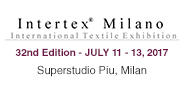 32nd Intertex Milano - 2017