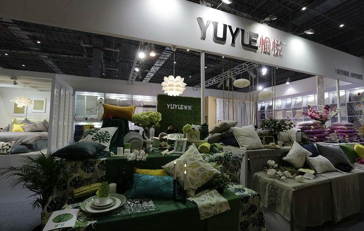 Intertextile Shanghai Home Textiles finished items