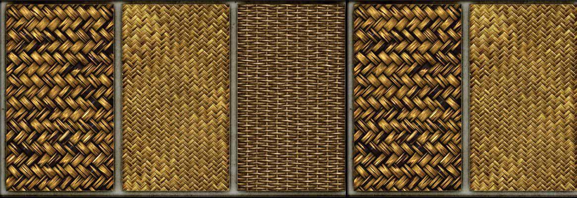 Basket Weaving Types : Plain weaves rib weave matt basket twill