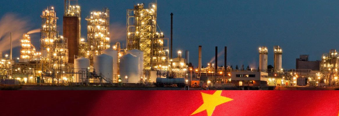 Adversity of the Chinese chemical sector