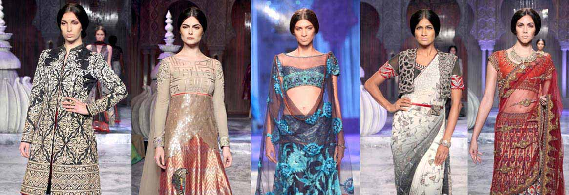 Fashionable Indian embroidery styles