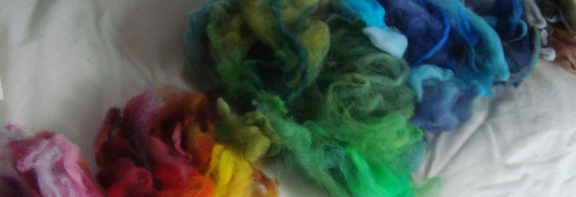 Textile Application of the Color Sensitivity of a Dye Mixture