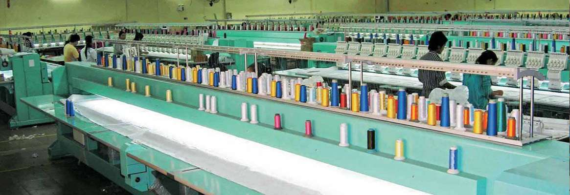 The Indian textile industry