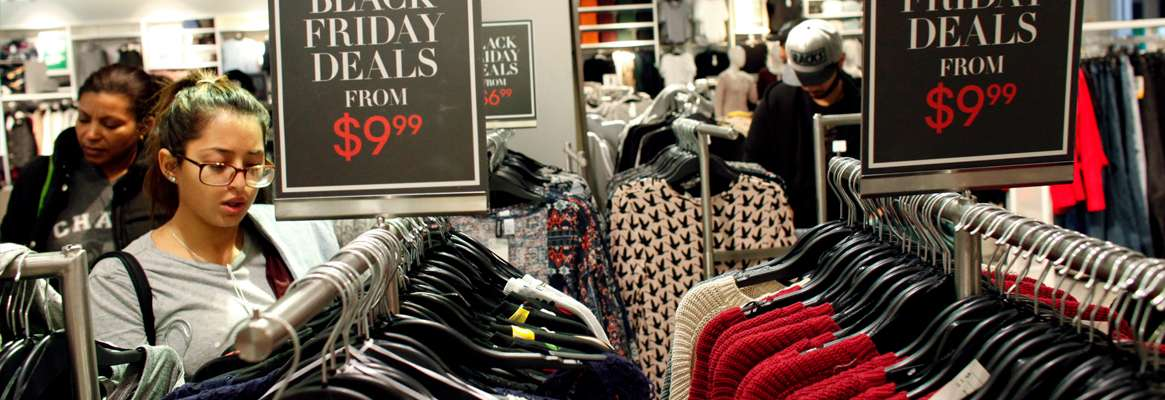 """Black Friday """"a purple day for retailers"""""""