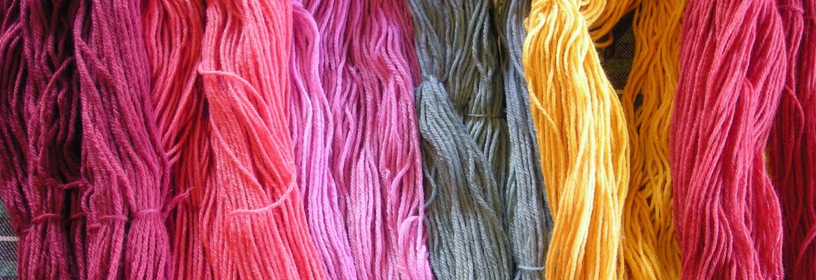 Effect of Treated Natural Dyed Knit Mesh Material