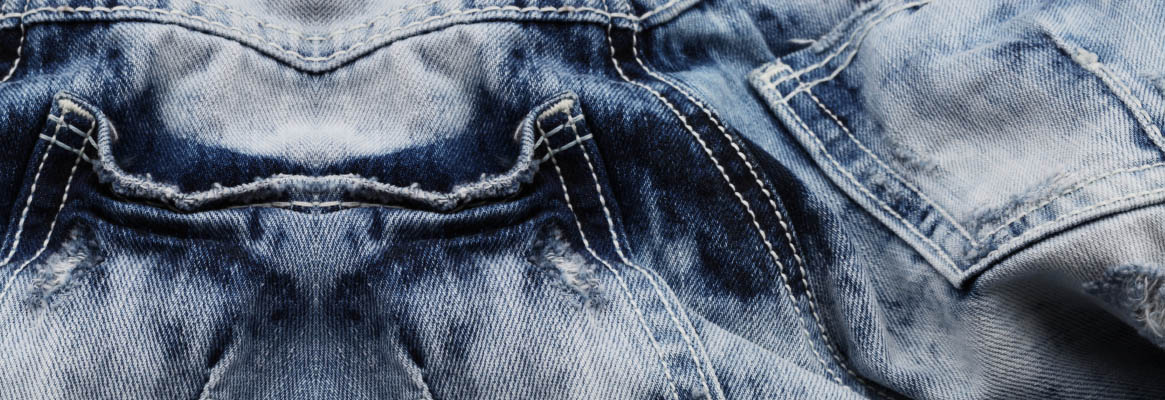 Denim effects
