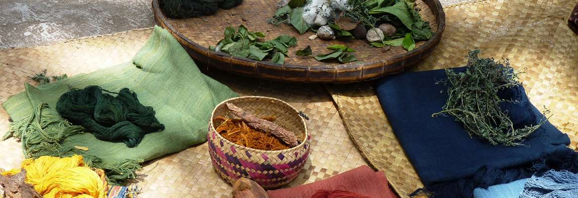 """Role of Natural dyes in """"Wellness Textiles"""""""