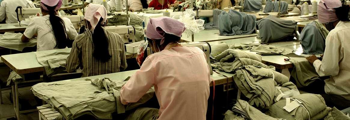 Unfair labor practice and apparel companies