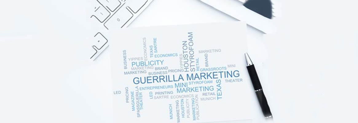 The wilder side of sales - Guerrilla Marketing