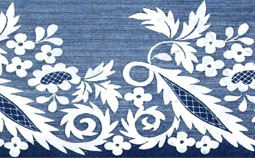 The Embroidered Border and Talk of Experience and Creativity