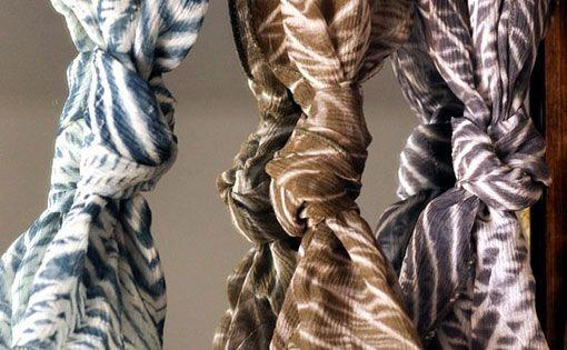 Eco silk dyeing