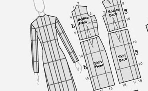 The art of garment pattern grading