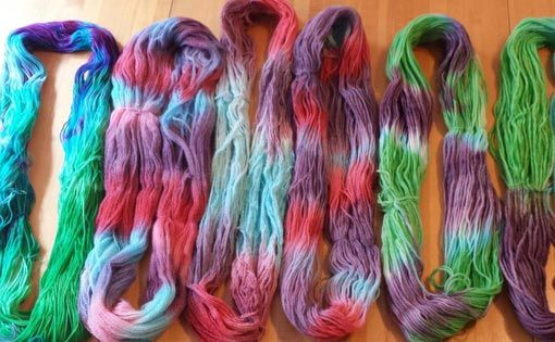 Methods of Space Dyeing