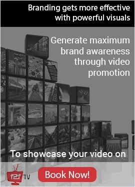 Generate maximum brand awarensess through video promotion