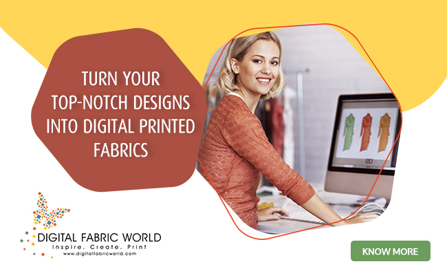 Design and Print your own Digital Custom Fabric