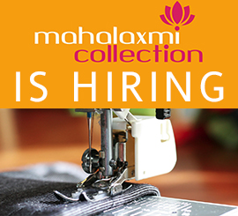 Mahalaxmi Collection is hiring
