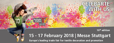Tecstyle Visions 2017 - Europe's leading Trade Fair